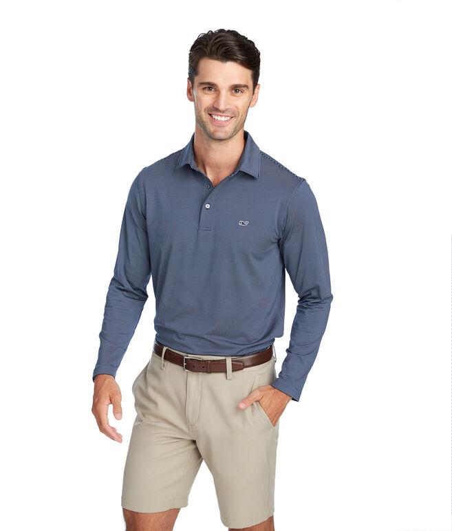Two-Color Long-Sleeve Sankaty Performance Polo