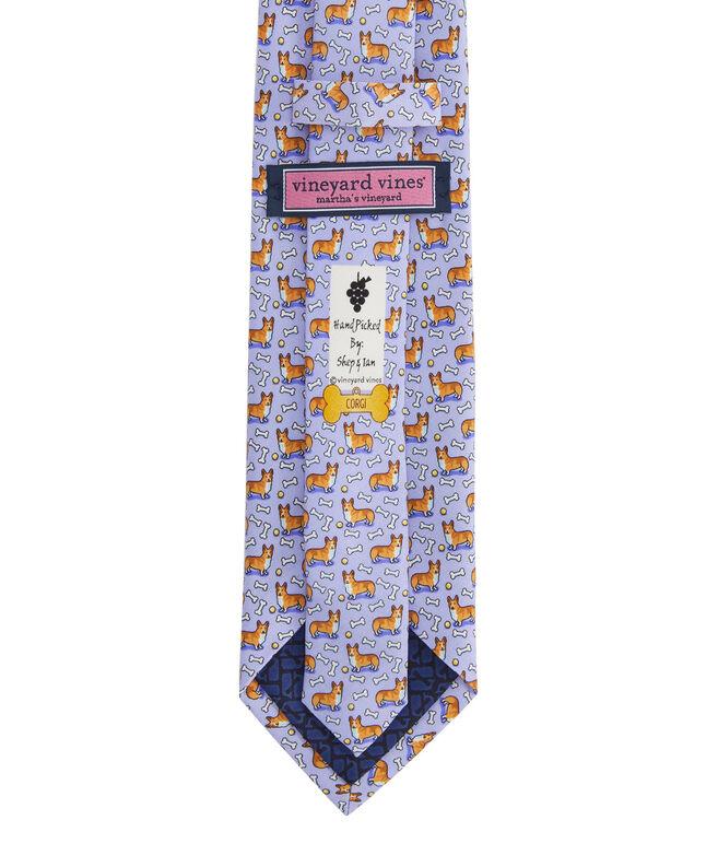 Corgi Printed Tie