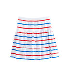 Girls Stripe Knit Pull On Skirt