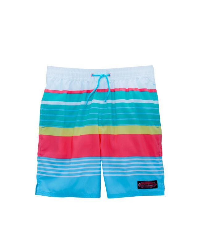 e1da3883f731a Boys Boca Bay Stripe Chappy Trunks