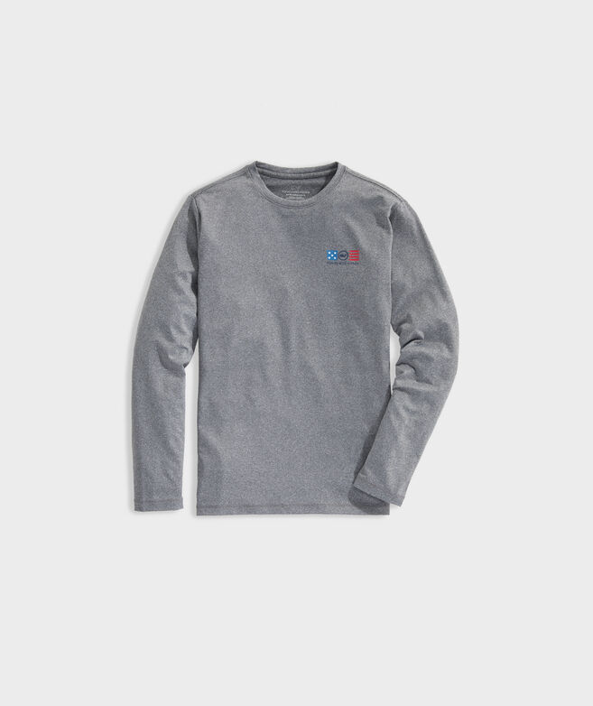 Boys' Liberty Long-Sleeve Performance Tee