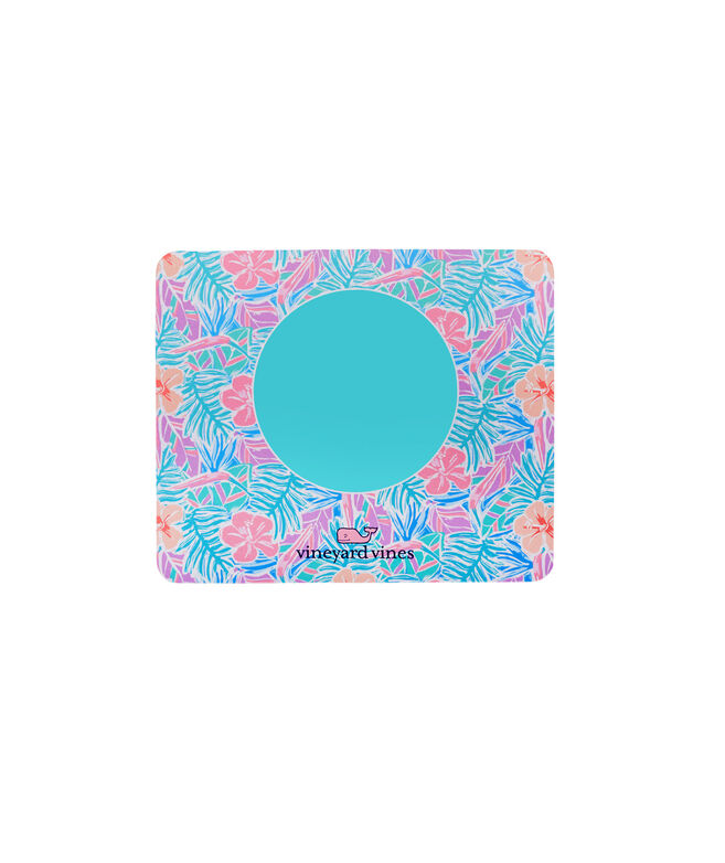 Monogrammed Gulf Tropical Chappy Mouse Pad