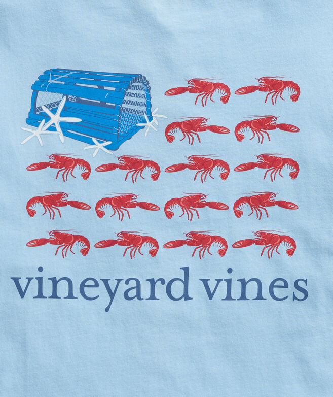 Lobster Flag Short-Sleeve Pocket Tee