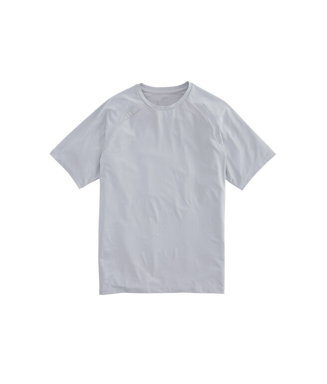 Active Heathered Mesh Tennis T-Shirt