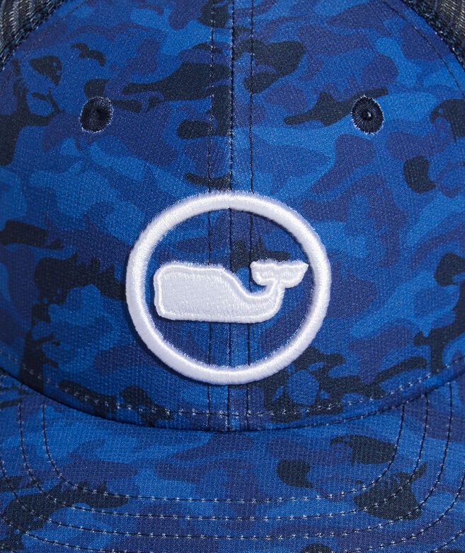 Boys' Camo Whale Dot Trucker Hat