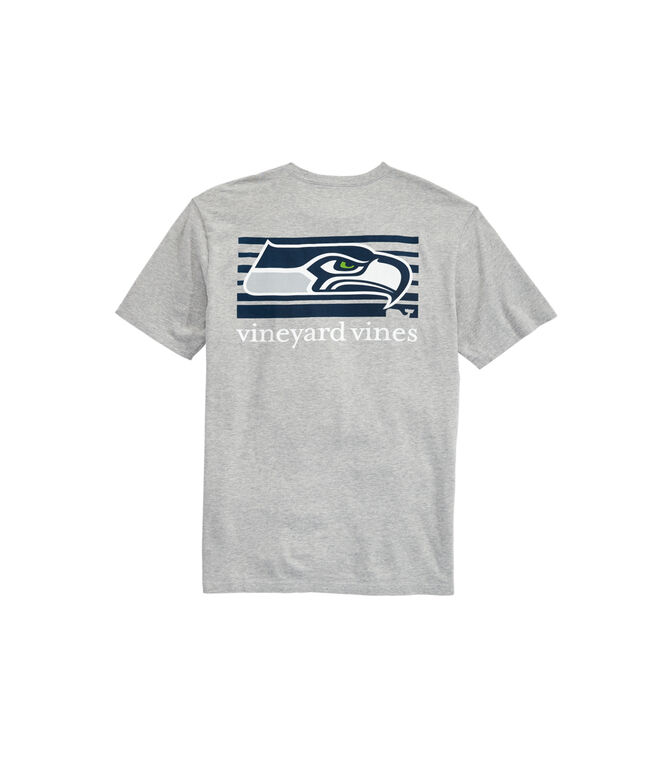 Seattle Seahawks Block Stripe T-Shirt