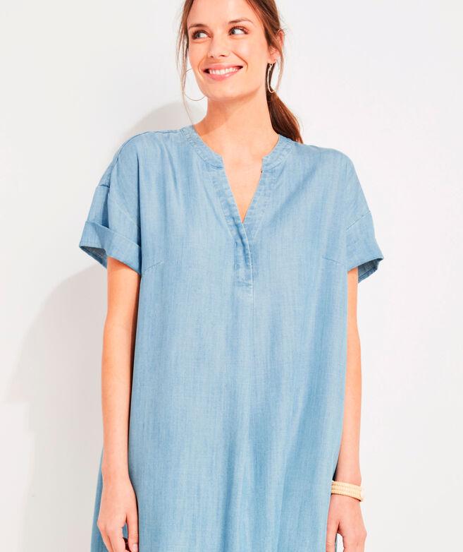 Chambray Easy Tunic Dress
