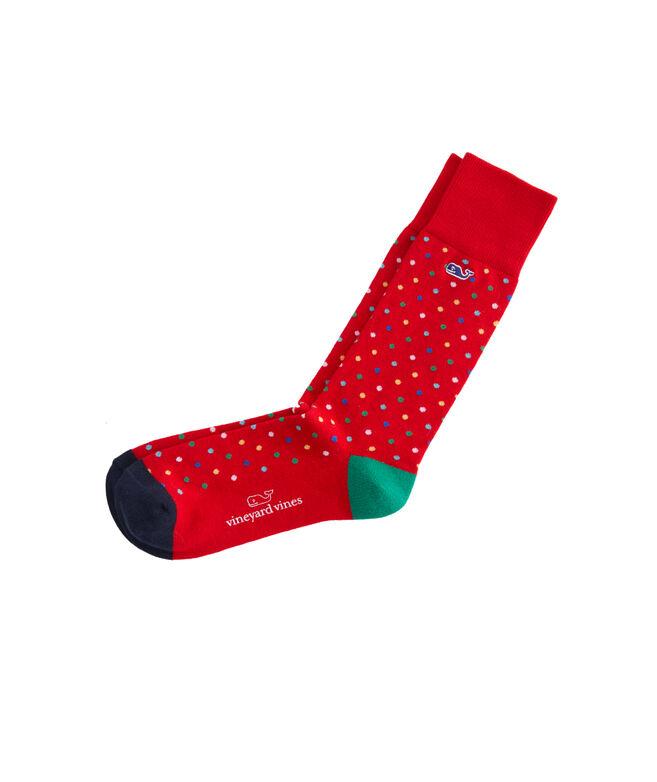 Multi Dot Socks