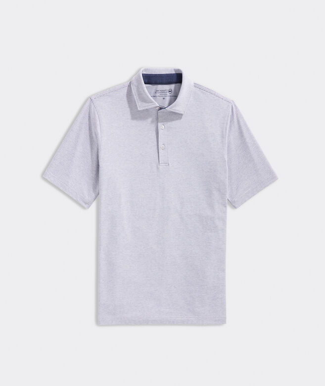 Heath Huntington Stripe Polo