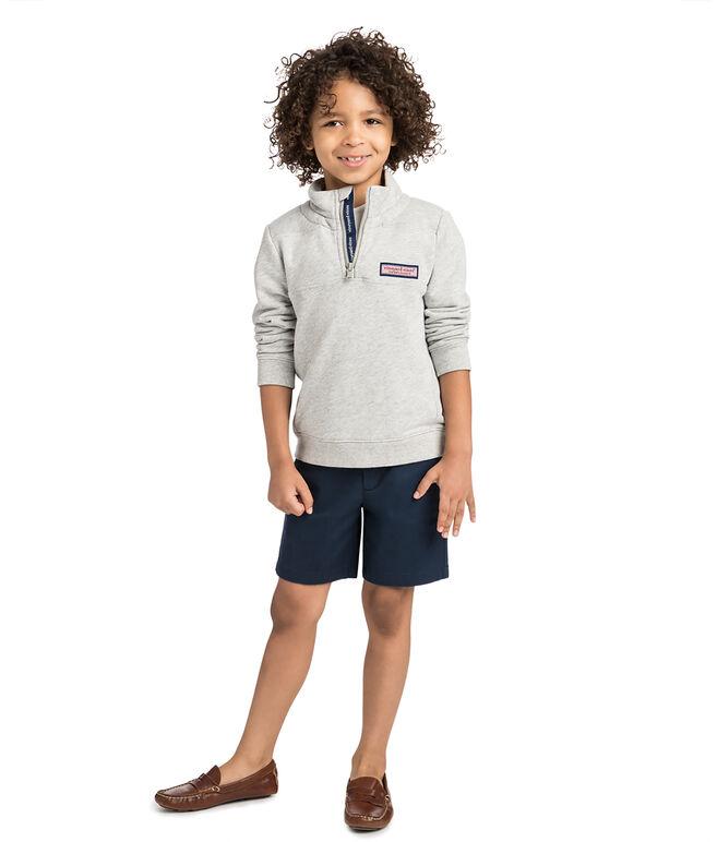 Boys Sail Stitch Shep Shirt