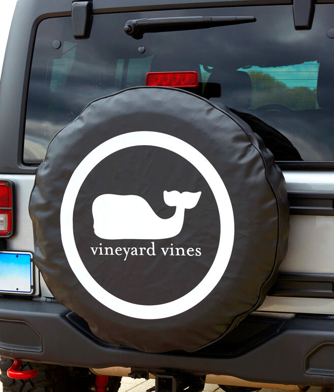 Whale Dot Standard Tire Cover
