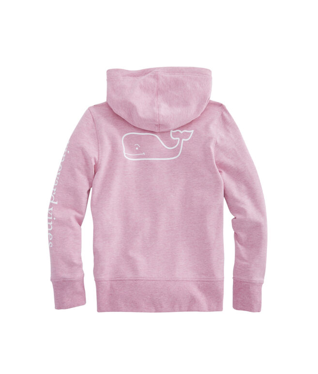 Girls French Terry Whale Hoodie