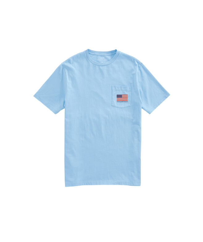 OUTLET Men's Party In The USA Short Sleeve Pocket Tee
