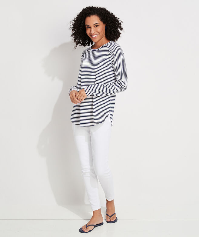 Edgartown Striped Knit Top