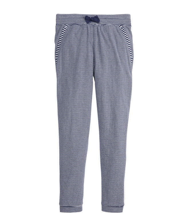 Girls Boathouse Striped Joggers
