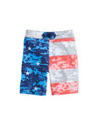 Boys Stars & Bars Board Shorts