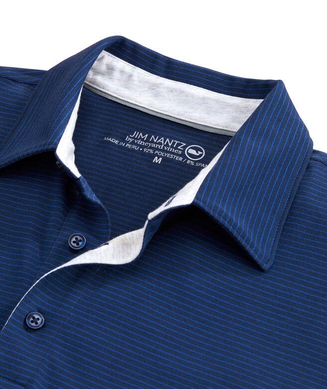 Carmel Wide Stripe Polo