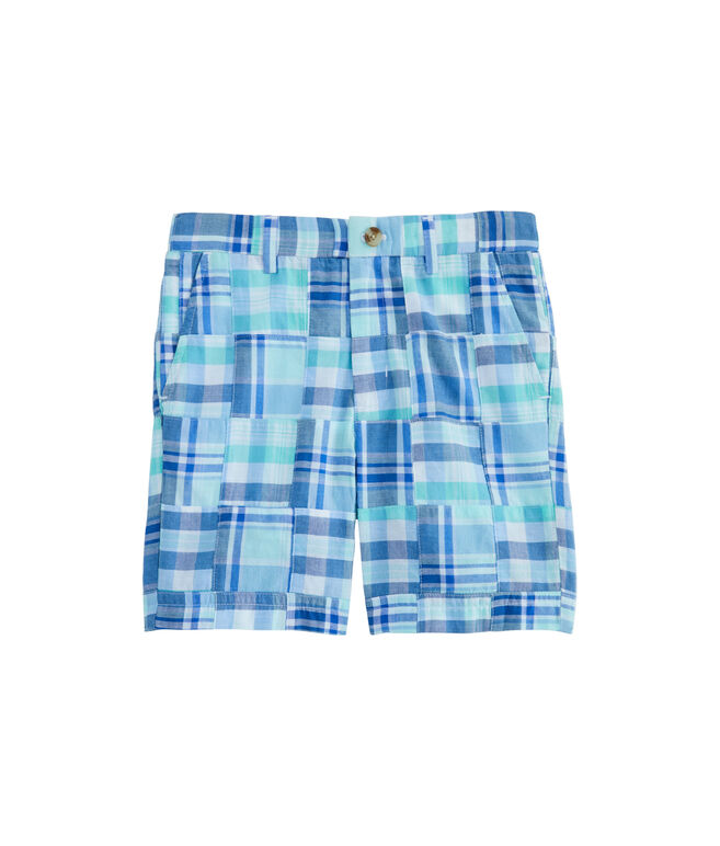 Boys Madras Breaker Shorts
