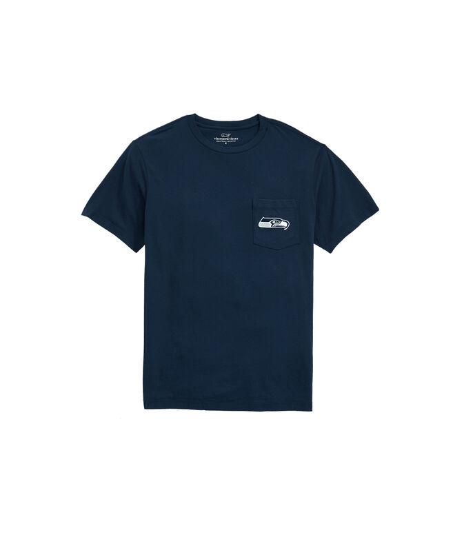 Seattle Seahawks Block Stripe T-Shirt