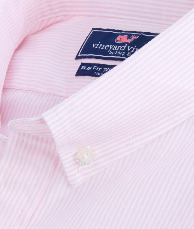 Seabird Stripe Slim Tucker Shirt