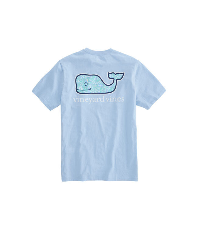 Sailing The Vineyard Whalefill Pocket T-Shirt