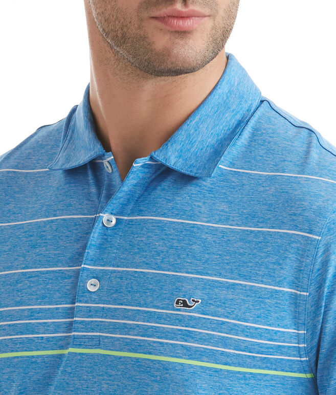 Simsbury Stripe Sankaty Performance Polo