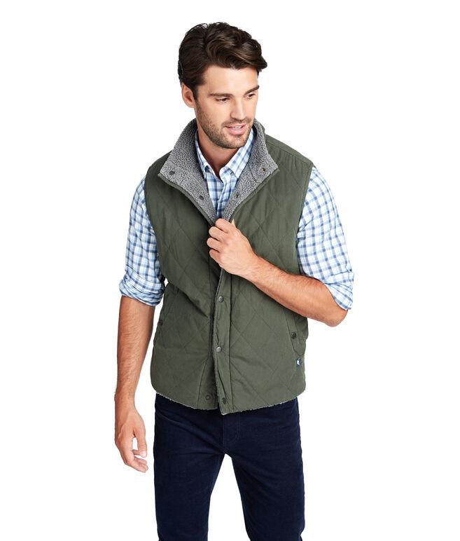 Canvas Reversible Heritage Vest