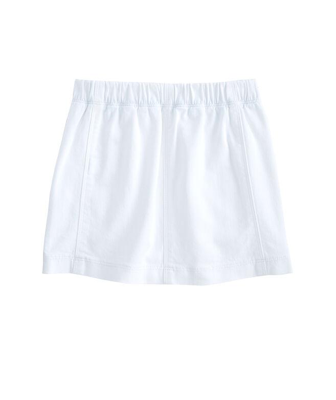 Girls Denim Sailor Skirt
