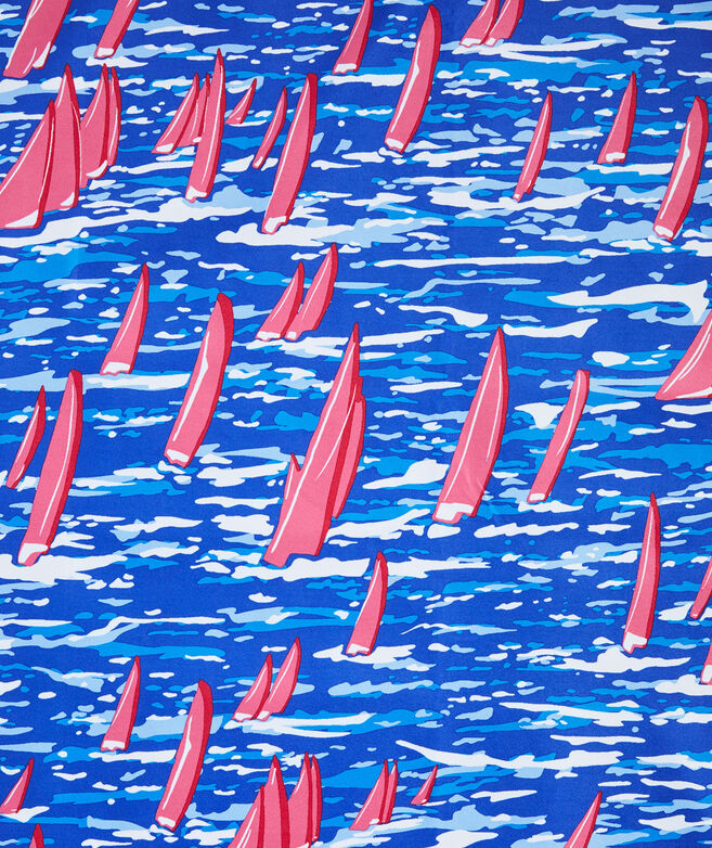 Sailing Printed Quick Dry Towel