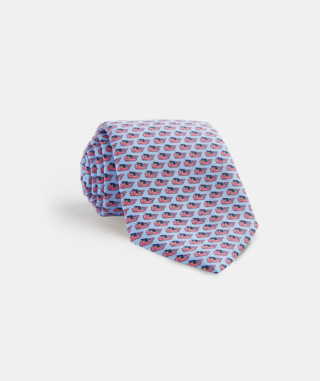 Grad Whale 2020 Printed Tie