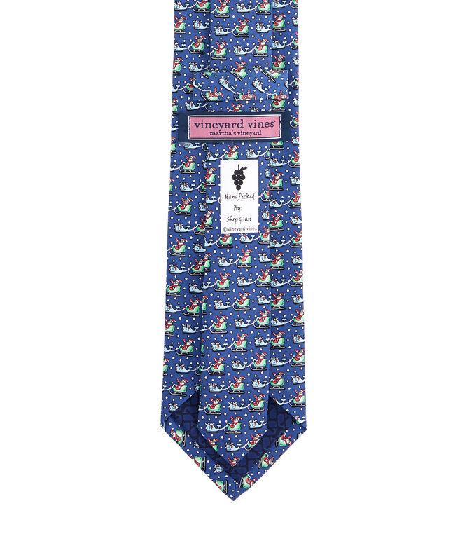 Santa & Whale Reindeer Tie