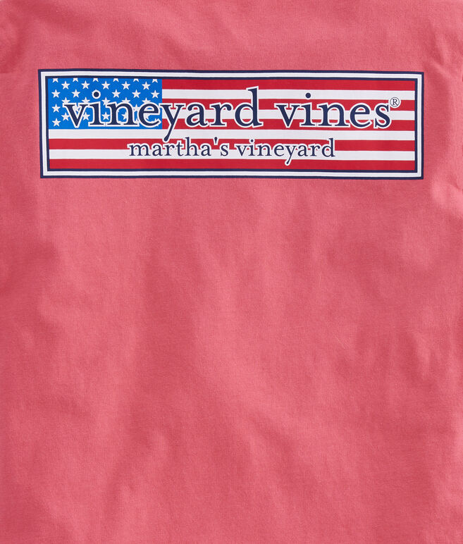 Boys Patriot Box Pocket T-Shirt