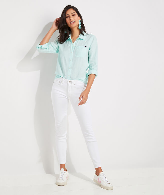 Linen Chilmark Relaxed Button-Down