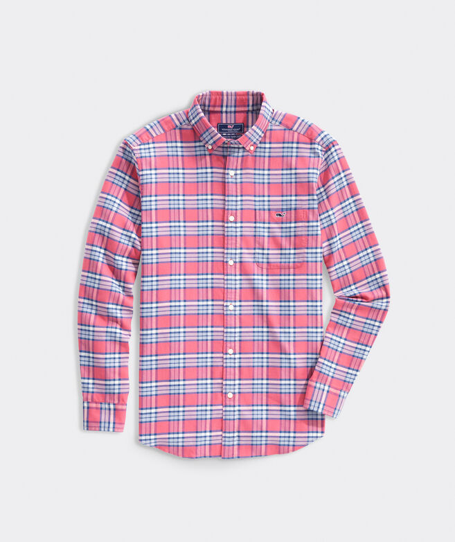 Classic Fit Harpoon Island Twill Tucker Button-Down Shirt