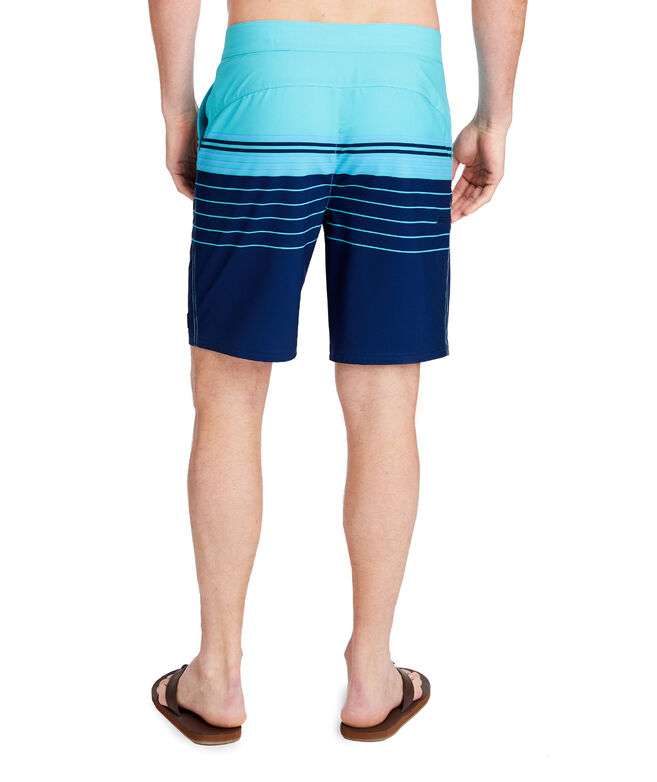 Stripe Stretch Board Shorts