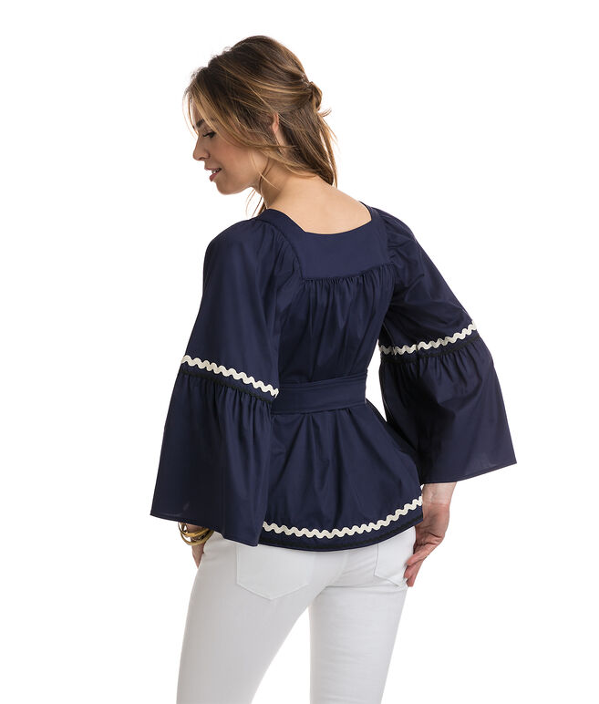 Ric Rac Bell Sleeve Top