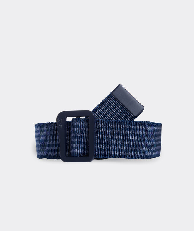 Striped Stretch On the Go Belt
