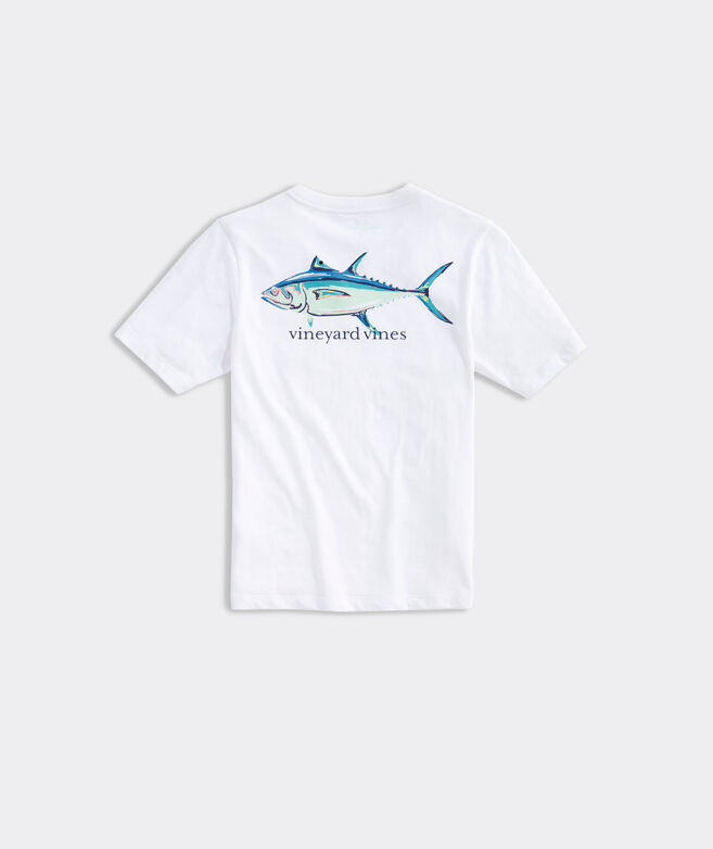 Boys' Painted Tuna Short-Sleeve Pocket Tee