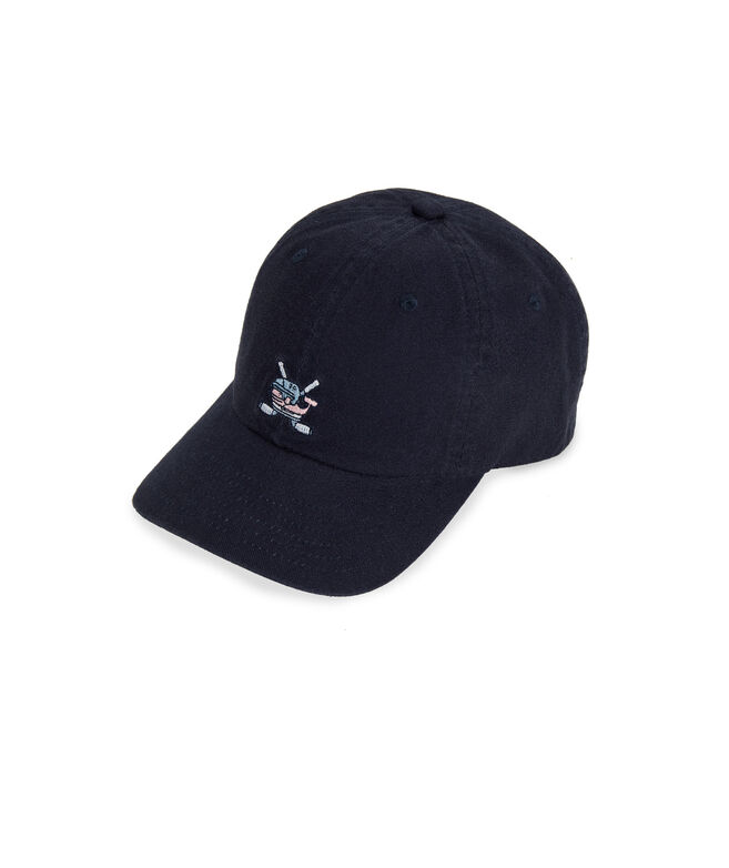 Boys Hockey Whale Baseball Hat