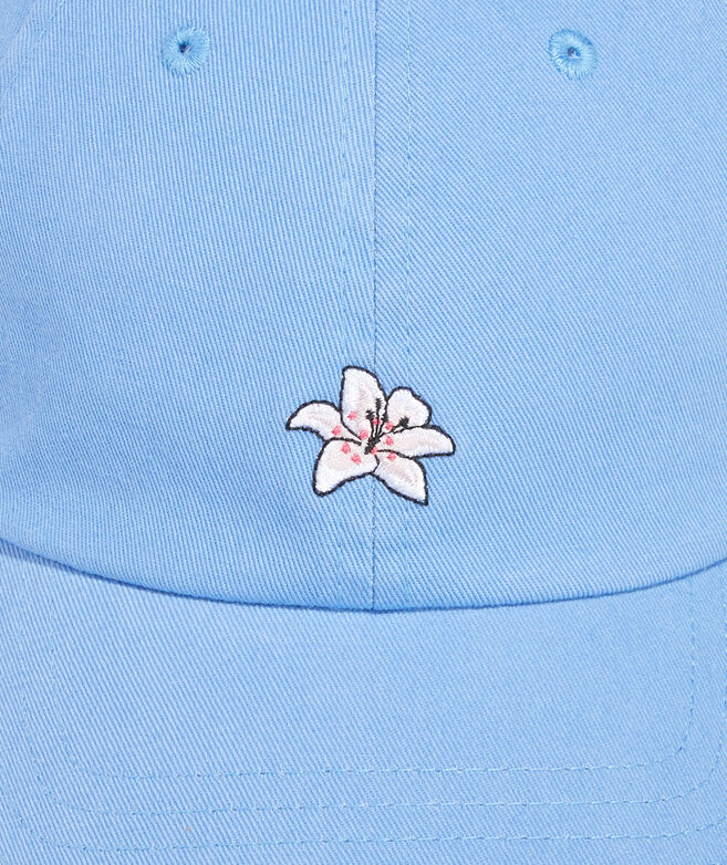 Kentucky Derby Lily Icon Bow Back Baseball Hat