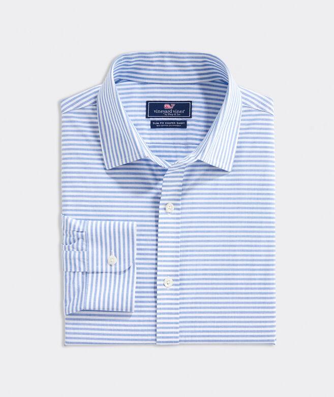Slim Fit Port Stripe Cooper Shirt