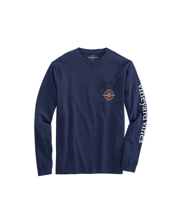 Long-Sleeve Every March Pocket T-Shirt