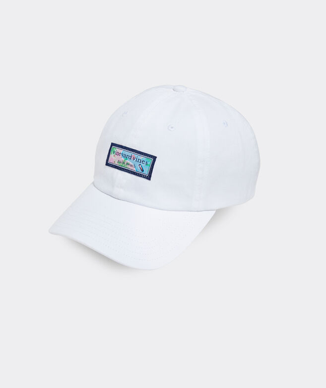 Resort Pool Logo Box Women's Baseball Hat