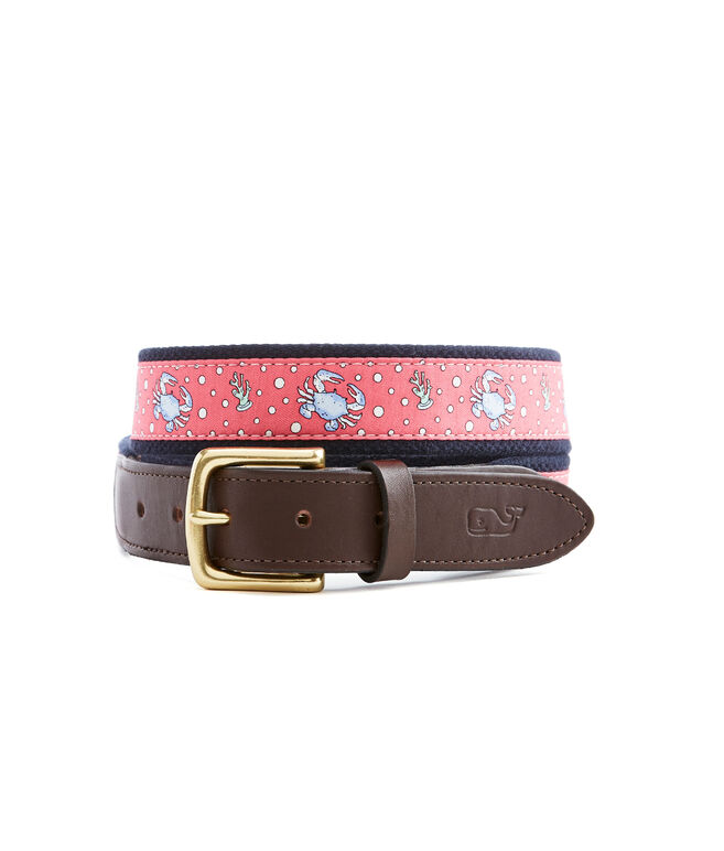 Boys Crab Club Belt