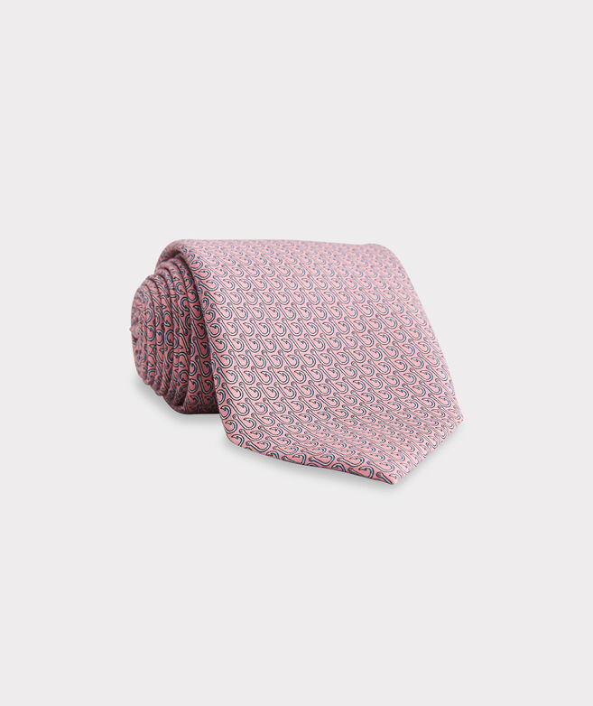 Fish Hooks Printed XL Tie