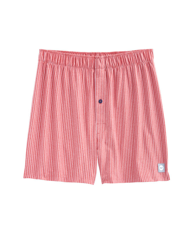 Heathered Wilson Stripe Boxers