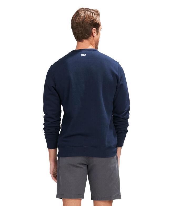 Lacrosse Stick Crewneck Sweatshirt