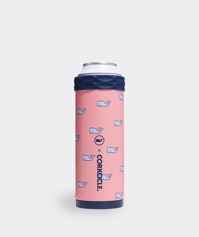 Pink Whale Corkcicle Slim Arctican