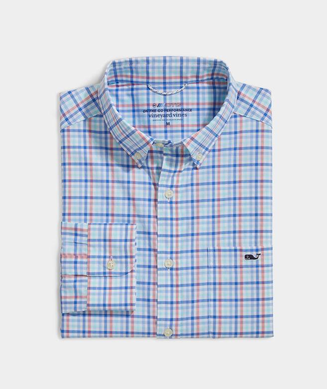 On-The-Go Nylon Check Shirt