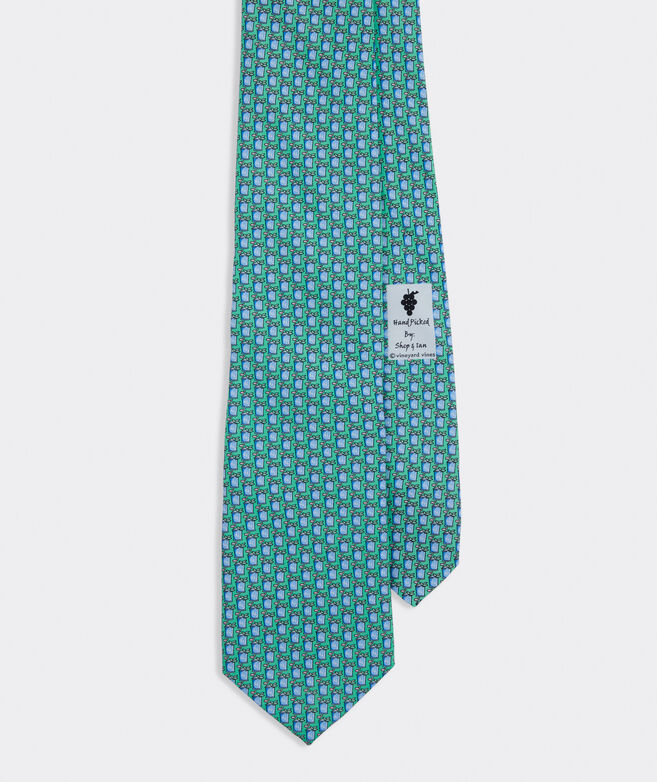 Kentucky Derby 2021 Mint Juleps Printed Tie